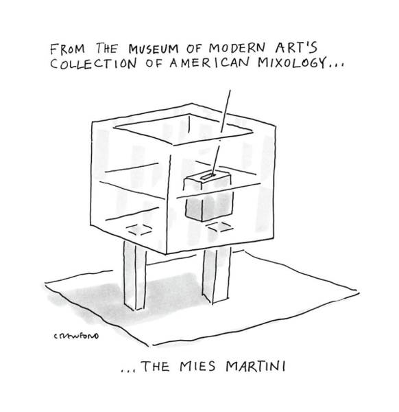From The Museum Of Modern Art's Collection Art Print