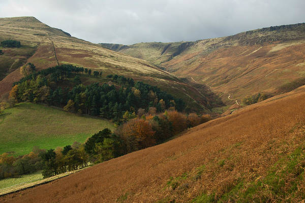 Photograph - From The Nab Towards Grinds Brook by Pete Hemington