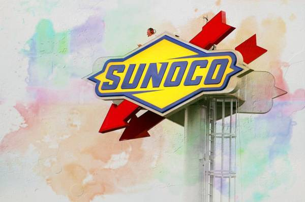 Wall Art - Photograph - From The Sunoco Roost by Alice Gipson
