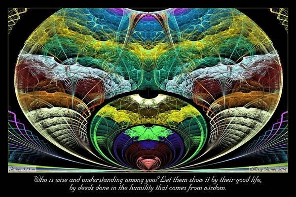 Digital Art - From Wisdom by Missy Gainer