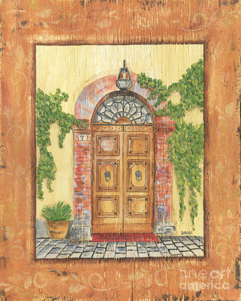 Front Wall Art - Painting - Front Door 2 by Debbie DeWitt