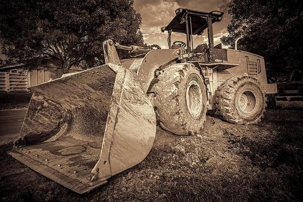 Photograph - Front Loader-1 by Rudy Umans