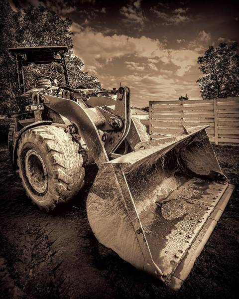Photograph - Front Loader-3 by Rudy Umans