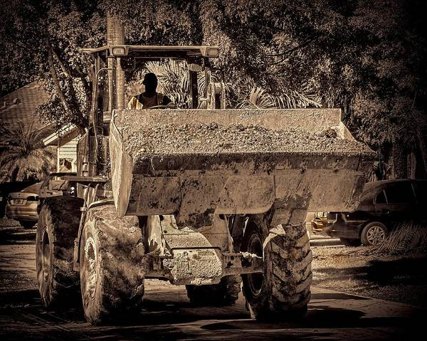Photograph - Front Loader-5 by Rudy Umans