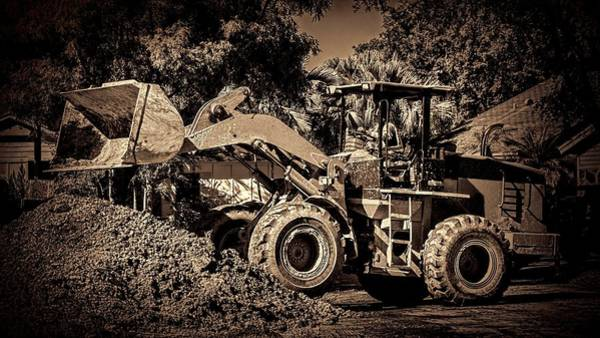 Photograph - Front Loader-6 by Rudy Umans