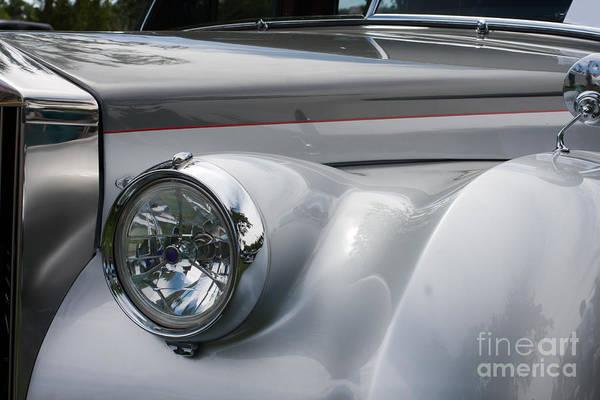 Photograph - Front Of A Rolls Royce by Gunter Nezhoda