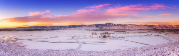 Photograph - Front Range Sunrise by Darren  White