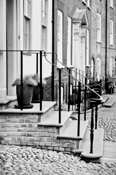 Banister Wall Art - Photograph - Front Steps by Tom Gowanlock