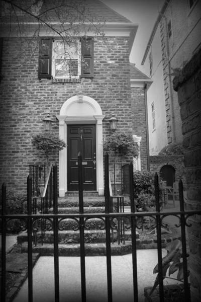 Photograph - Front Stoop From The Gate by Kelly Hazel