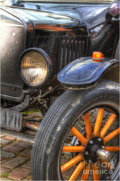 Photograph - Front Wheel Axle by Heiko Koehrer-Wagner