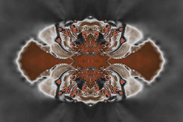 Digital Art - Frost And Woodsmoke 3 by Judi Suni Hall