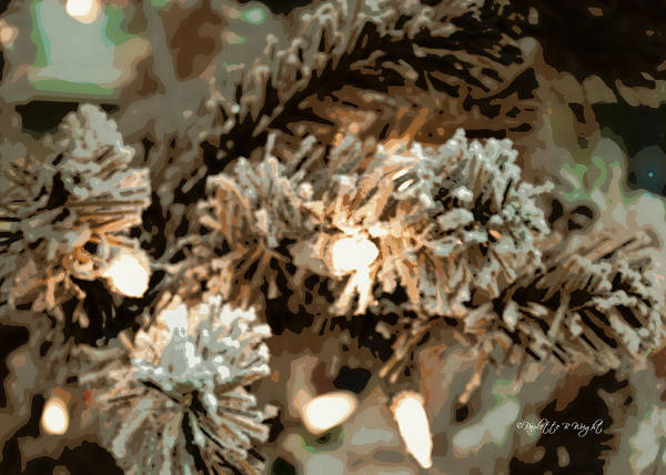 Photograph - Frosted Branches by Paulette B Wright