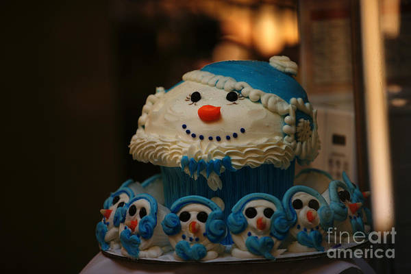 Photograph - Frosty Holiday 1 by Linda Shafer