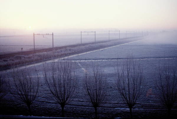 Wall Art - Photograph - Frosty Landscape by Ton Kinsbergen/science Photo Library
