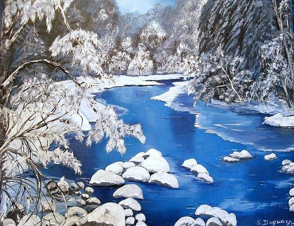 Painting - Frosty Morning by Sharon Duguay
