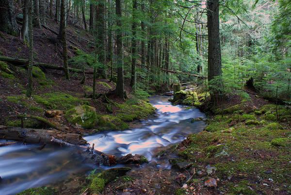 Photograph - Frothy Creek @ Liberty Lake 9 by Ben Upham III