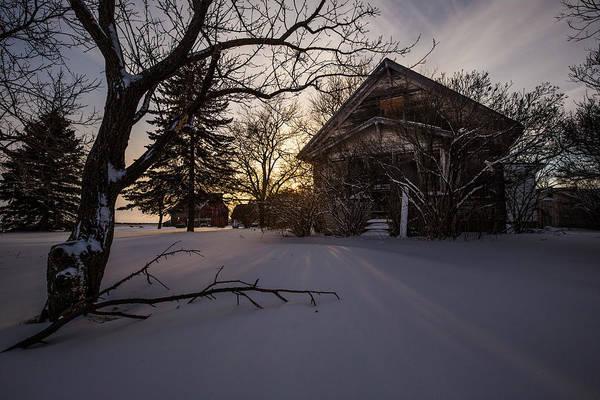 Photograph - Frozen And Forgotten 2 by Aaron J Groen