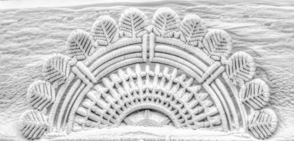 Frozen Architecture Art Print