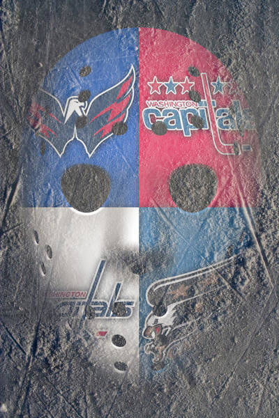 Washington Capitals Photograph - Frozen Capitals by Joe Hamilton