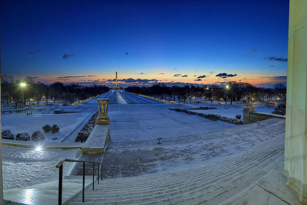 Photograph - Frozen Dc by Metro DC Photography