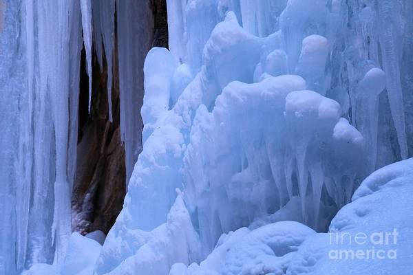 Box Canyon Wall Art - Photograph - Frozen Decorations by Adam Jewell