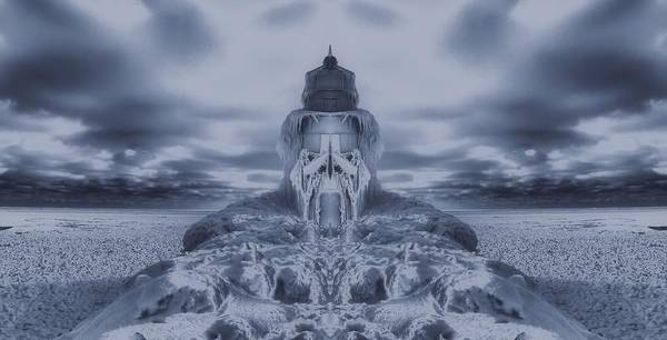 Frozen Tundra Digital Art - Frozen Dream On The Coast by Dan Sproul