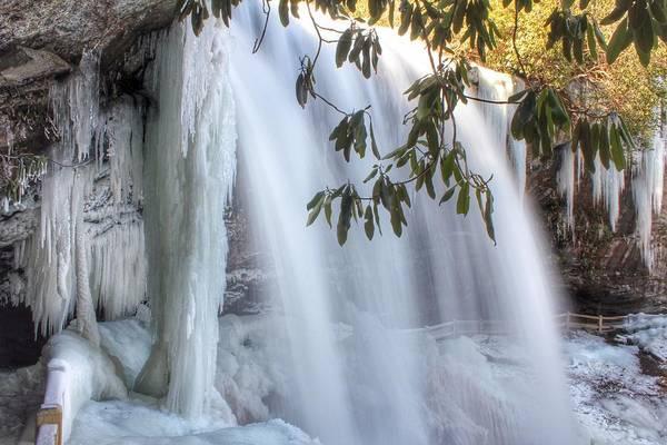 Frozen Dry Falls Art Print