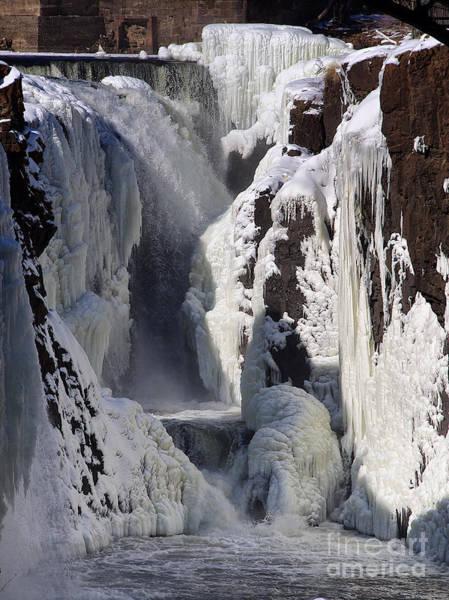 Photograph - Frozen Falls by Mark Miller