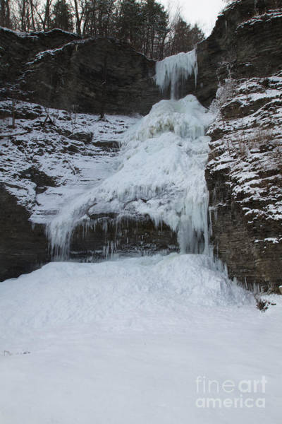 Photograph - Frozen Falls by William Norton