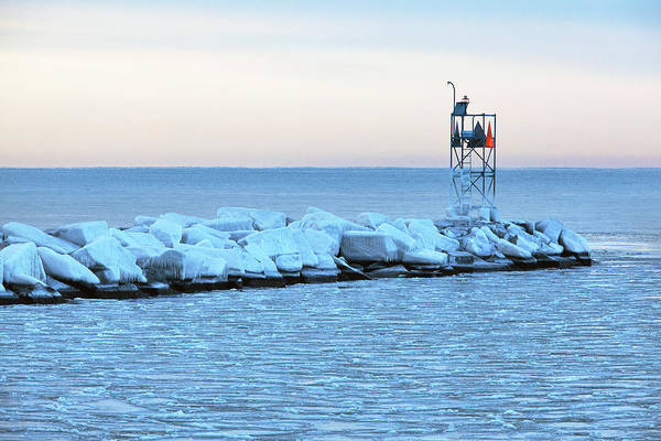 Wall Art - Photograph - Frozen Harbor by Eric Gendron