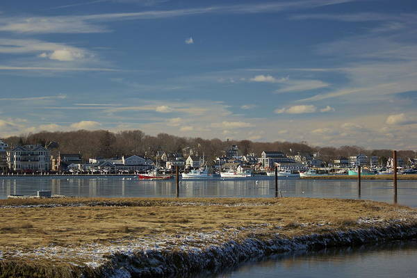 Photograph - Frozen Harbor In Scituate by Amazing Jules