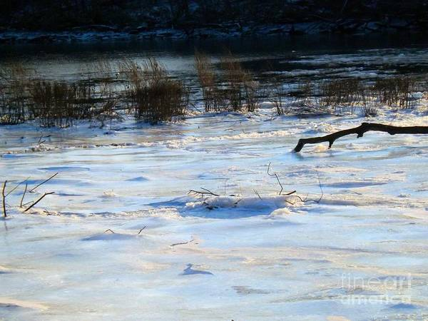 Photograph - Frozen In Time -  Delaware River Series by Robyn King