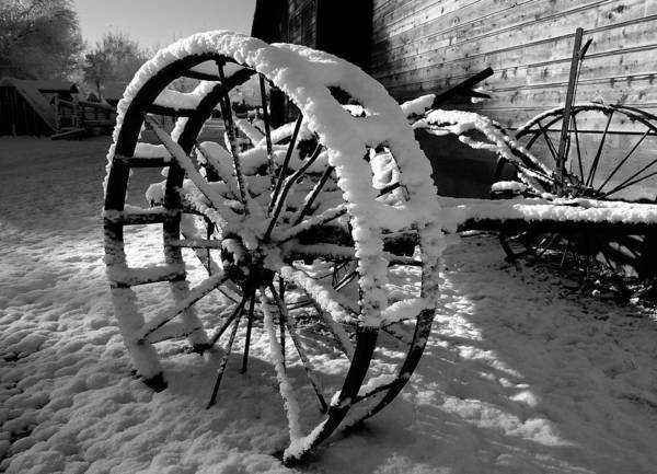 Yesterday Photograph - Frozen In Time by Steven Milner