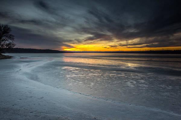 Wall Art - Photograph - Frozen Lake Benton by Aaron J Groen