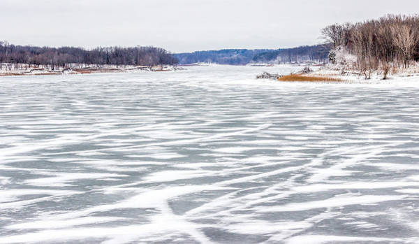 Photograph - Frozen Lake by Pete Hendley