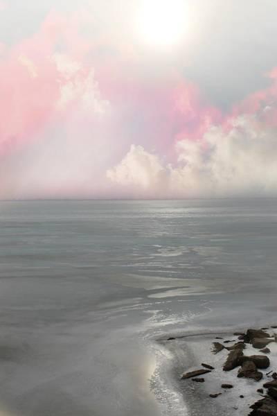 Photograph - Frozen Lake by Rebecca Frank