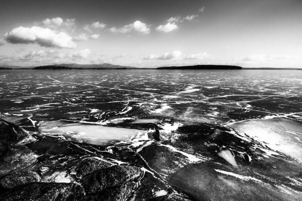 Photograph - Frozen Lake by Robert Clifford