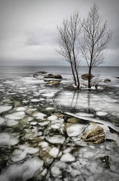 Wall Art - Photograph - Frozen Lake by Vedran Vidak