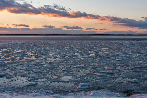 Photograph - Frozen Lavallette New Jersey by Terry DeLuco