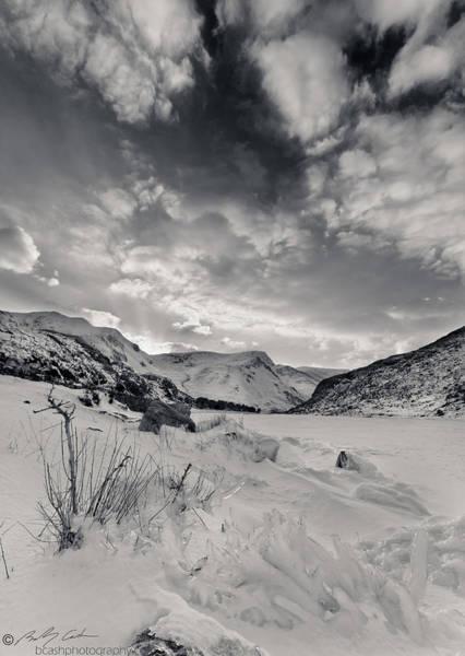 Photograph - Frozen Llyn Ogwen by Beverly Cash