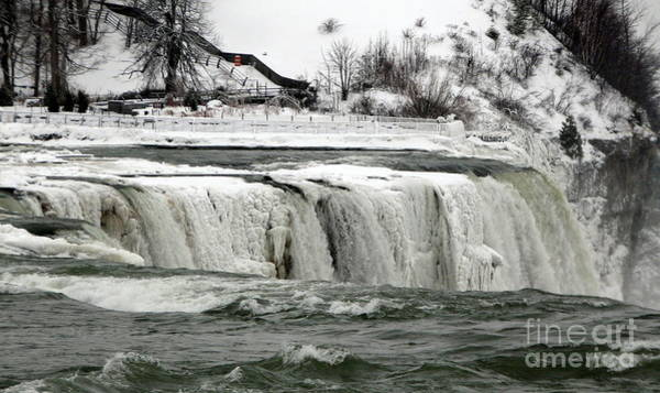 Photograph - Frozen Niagara Falls After Blizzard Of 2014 B by Rose Santuci-Sofranko