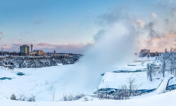 Photograph - Frozen Niagara N1 by Chris Bordeleau