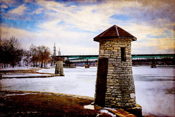 Photograph - Frozen River by Milena Ilieva