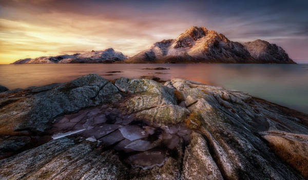 Wall Art - Photograph - Frozen Sunrise by Javier De La