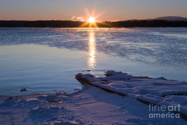 Photograph - Frozen Sunrise by Karin Pinkham