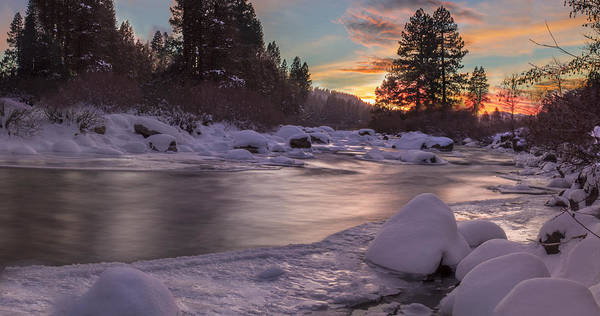 Wall Art - Photograph - Frozen Sunset by Jeremy Jensen