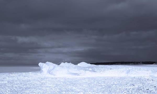 Wall Art - Photograph - Frozen Wave On Lake Michigan by Dan Sproul