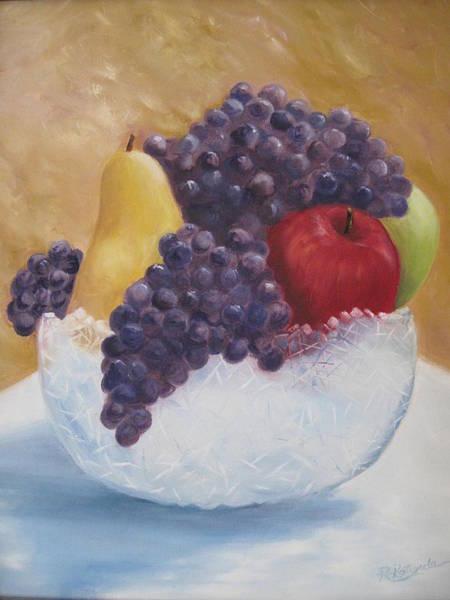 Fruit And Crystal Art Print