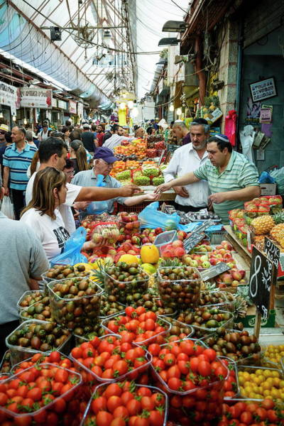 Customer Photograph - Fruit And Vegetable Stalls At Mahane by Yadid Levy / Robertharding