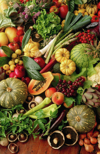 Retail Photograph - Fruit And Vegetables Still Life by John Hay